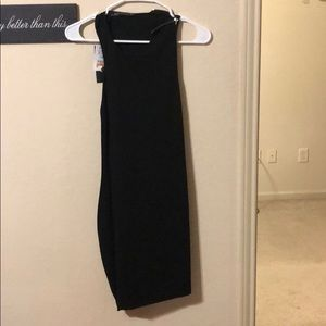 Never before worn Zara black mini dress.